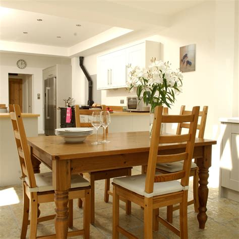 family kitchen design ideas 28 wooden open plan kitchen diner ideal home