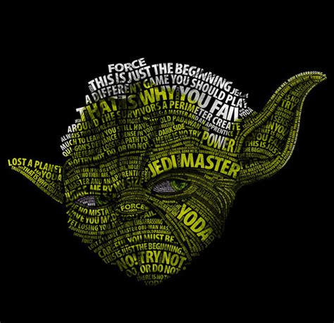 simply awesome star wars typographic portraits by vladislav poliakov design swan