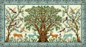 tile murals for kitchen backsplash bırak zeytin ağacı kulağına fısıldasın sanat karavanı