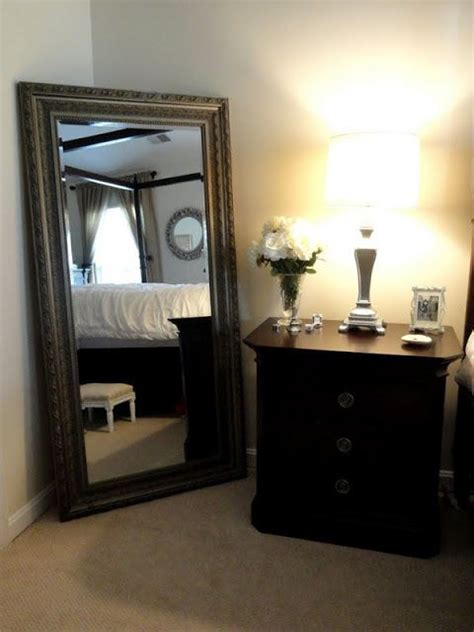 Bedroom Length Mirror Ideas by Beautiful Length Mirror In Bedroom Living