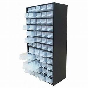Casier A Tiroir : bloc tiroir de rangement casier en m tal noir 60 tiroirs bt60 ~ Teatrodelosmanantiales.com Idées de Décoration