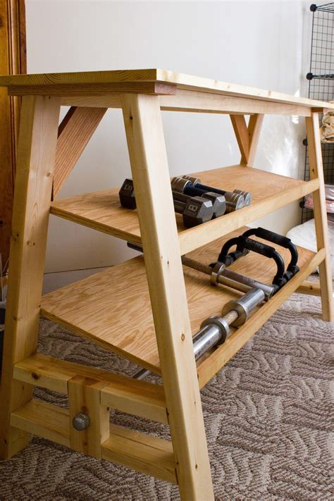 ana white dumbbell table desk diy projects