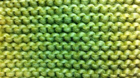garter stitch how to knit the garter stitch new stitch a day