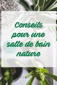 Plante Verte Salle De Bain : id es d co pour une salle de bain nature zen madeinmeuble ~ Melissatoandfro.com Idées de Décoration