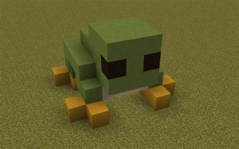 frog minecraft statues