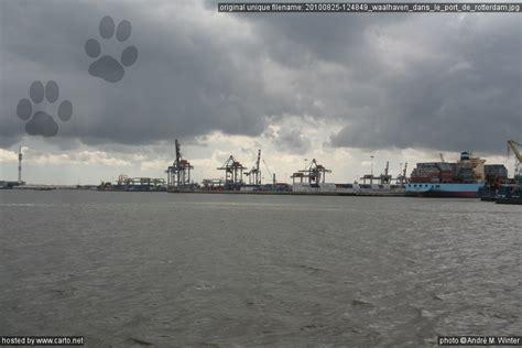 le port de rotterdam waalhaven dans le port de rotterdam port de rotterdam ao 251 t 2010