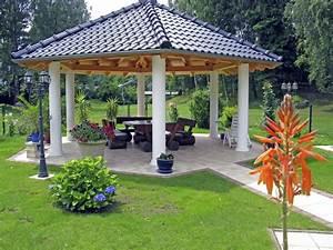 Gartenpavillon Metall Mit Festem Dach : der pavillon mehr als nur ein schutz vor regen ~ Bigdaddyawards.com Haus und Dekorationen