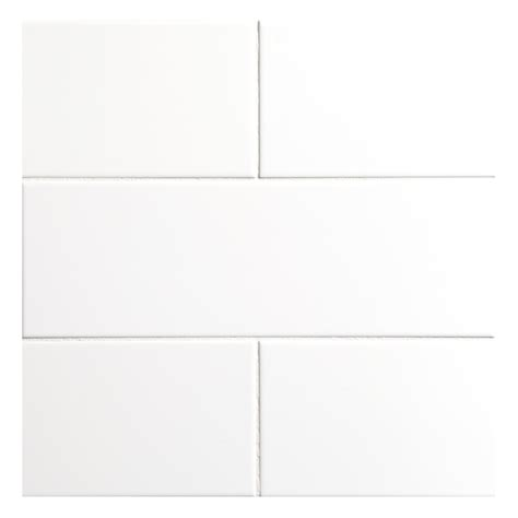 4x12 White Glossy Subway Tile by Nori Ceramic Collection Tile White Gloss 4 Quot X 12 Quot