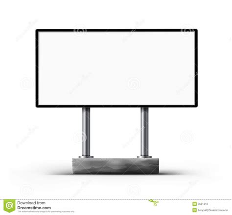 blank board template blank board template stock illustration illustration of advertisement 3581310