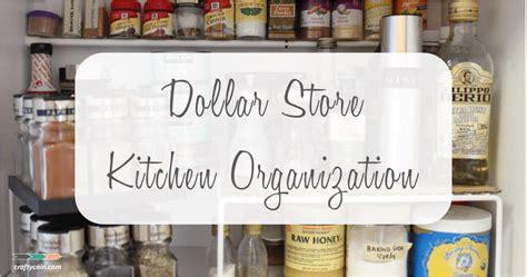 Kitchen Organization Dollar Store by Dollar Store Kitchen Organization Crafty Coin