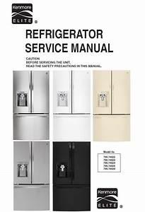 Pin On Kenmore Refrigerator Service Manual