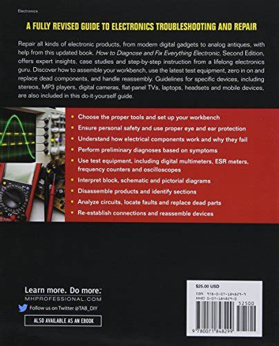 how to diagnose and fix everything electronic second edition import it all