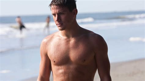 full hd wallpaper channing tatum muscles beach wet actor