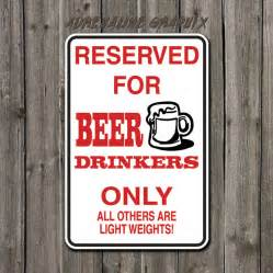 Funny Reserved Parking Signs