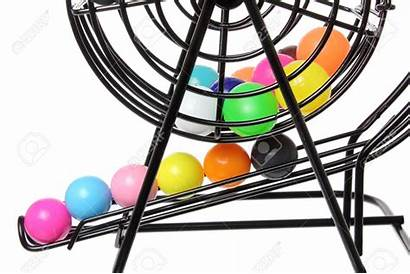Bingo Cage Lottery Clipart Balls Texas Background