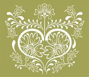 Vintage Floral Design Vector Graphic | Free Vector ...