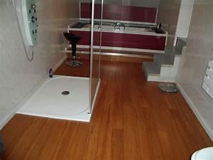 Parquet Salle De Bain Brico Depot : plancher bois pour salle de bain id e ~ Dailycaller-alerts.com Idées de Décoration