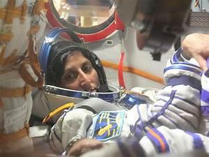 NASA - Astronaut Suni Williams Inside Soyuz