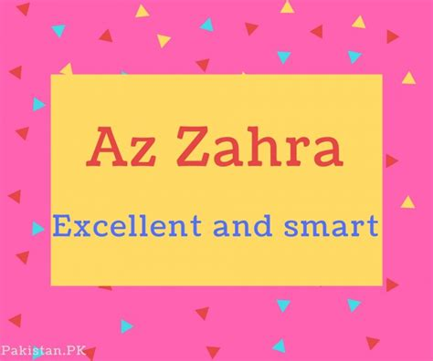 What Is Az Zahra Name Meaning In Urdu  Az Zahra Meaning