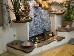 elfen zimmerbrunnen naturstein youtube With whirlpool garten mit künstliche pflanzen für balkon