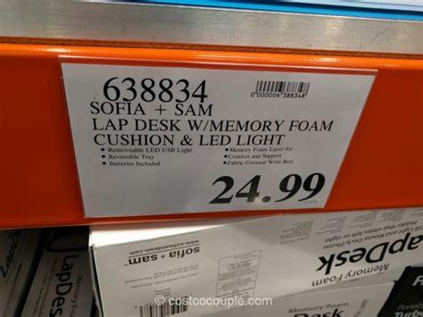 sofia and sam memory foam lap desk