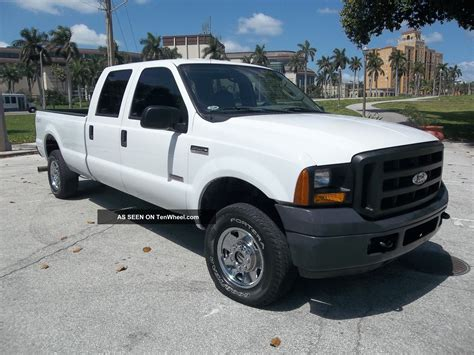 Ford F250 Diesel Mpg by 2006 Ford F250 Duty Diesel Mpg