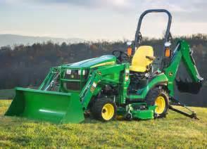 sub compact utility tractors 1025r tlb john deere us