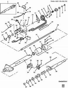 Steering Column Standard Trans Col Shift