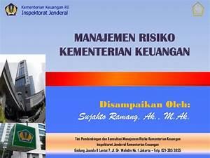 Manajemen risiko di kementerian keuangan
