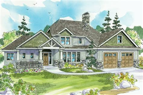craftsman house plans etheridge    designs