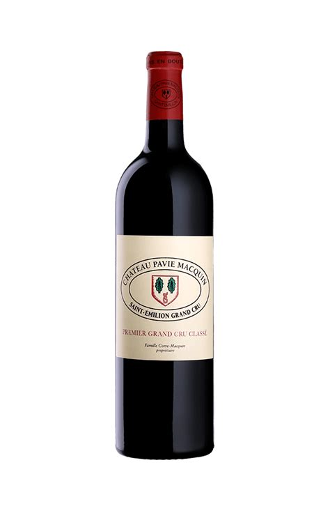 chateau pavie macquin ch 226 teau pavie macquin 2014 wine from bordeaux