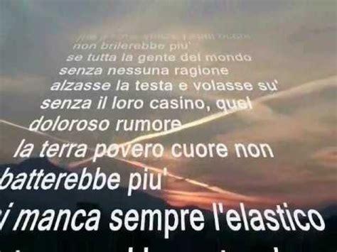 Prima Dammi Un Testo by Lucio Dalla Le Rondini Con Testo Doovi