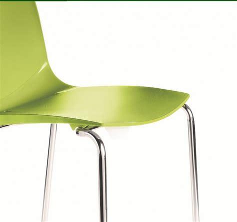 chaise reunion chaises réunion sally coque polypropylène lot de 6