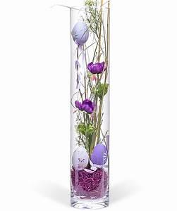 Deko Für Vasen : deko vase ostern lila 50cm jetzt bestellen bei valentins valentins blumenversand blumen ~ Indierocktalk.com Haus und Dekorationen