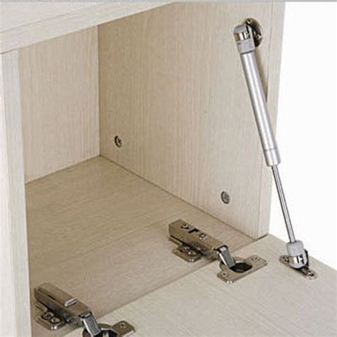 hydraulic hinges for kitchen cabinets 2pcs kitchen door cabinet hydraulic gas strut lift support 7386