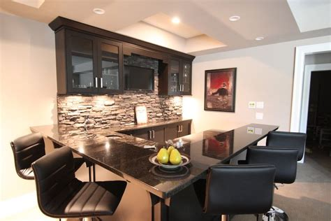 Basement Bar Height by Back Bar Counter Height The Quot L Quot Bar Height With The