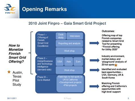 Opening Remarks Meetings