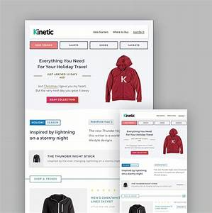 19 best mailchimp responsive email templates for 2018 With interactive email template