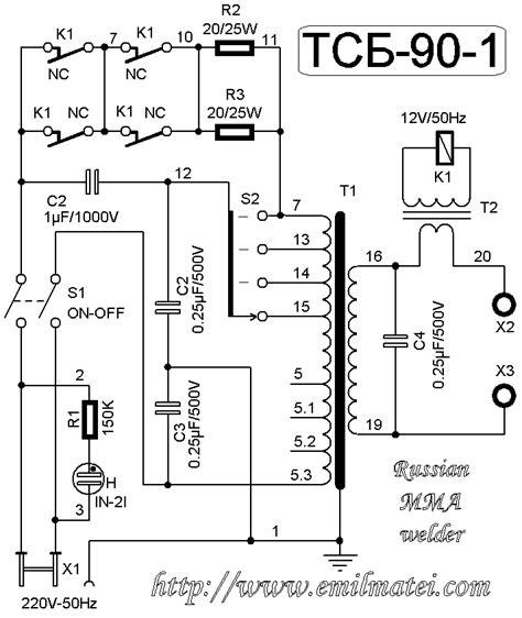 Welding Transformer Wiring Diagram by Emil Matei Tsb 90 1u3 Schematic Diagram 1 Emil Matei
