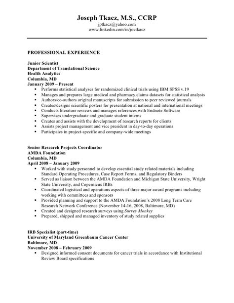 How Detailed Should A Resume Be by Detailed Resume