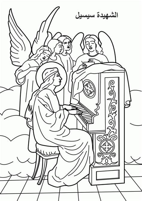 coloring pages  saints coloring home