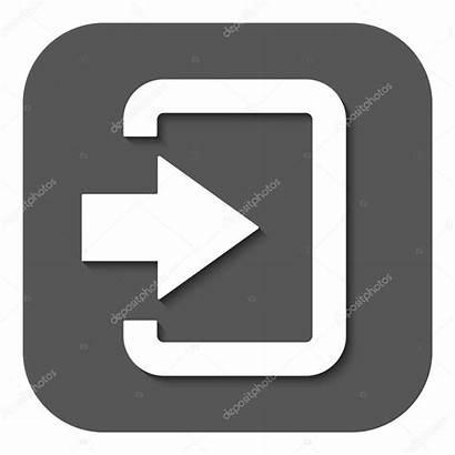 Icon Login Entry Input Symbol Illustration Authorization