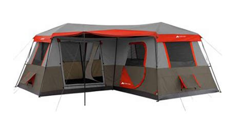 ozark trail 12 person instant cabin tent with screen room ozark trail 12 person 3 room instant cabin tent review