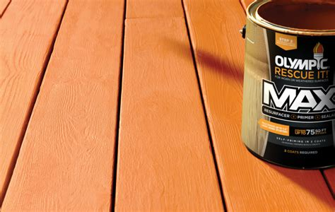 deck  concrete resurfacers olympic stains
