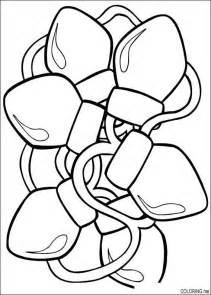 lights coloring page tree children s