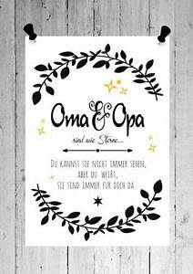 Geschenke Für Oma Weihnachten : druck fine art bild poster oma opa sind sterne print shabby din a4 din a3 gedichte zitate ~ Orissabook.com Haus und Dekorationen