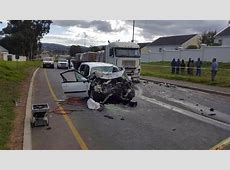 Mother and son killed in headon collision, Durbanville