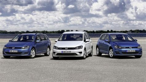 vw golf range of cars new vw golf range features ultrafrugal petrol engine next green car