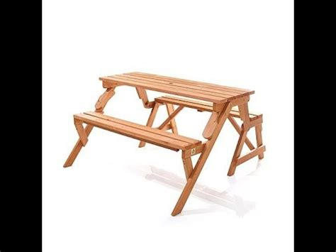Awesome Convertable Picnic Table  Bench Review Musica