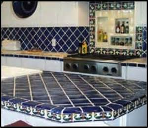 kitchen countertop tile design ideas ideas for using mexican tile in your kitchen or bath countertop mexican tile designs